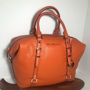 Michael Kors Bedford Legacy Leather Satchel